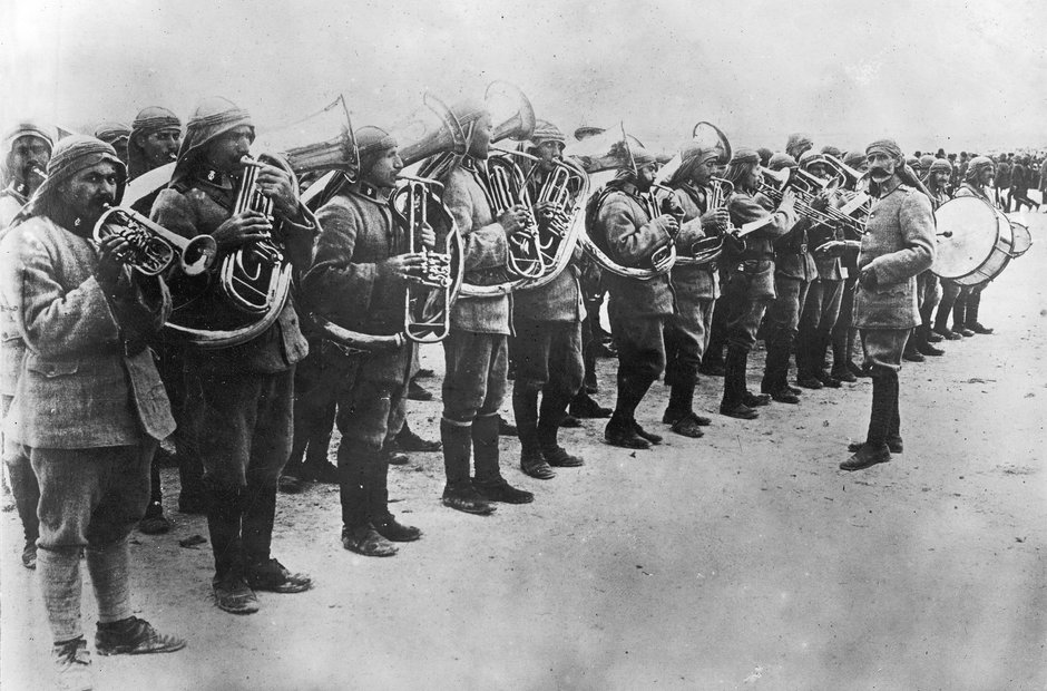 vintage military band pictures