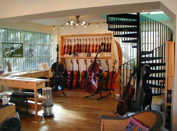 12 eye-wateringly beautiful musical instrument shops