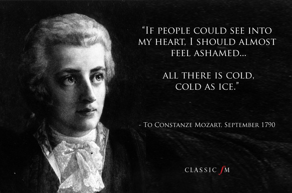 mozart letter quotes