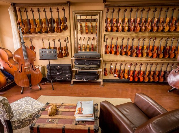 Beautiful classical music shops