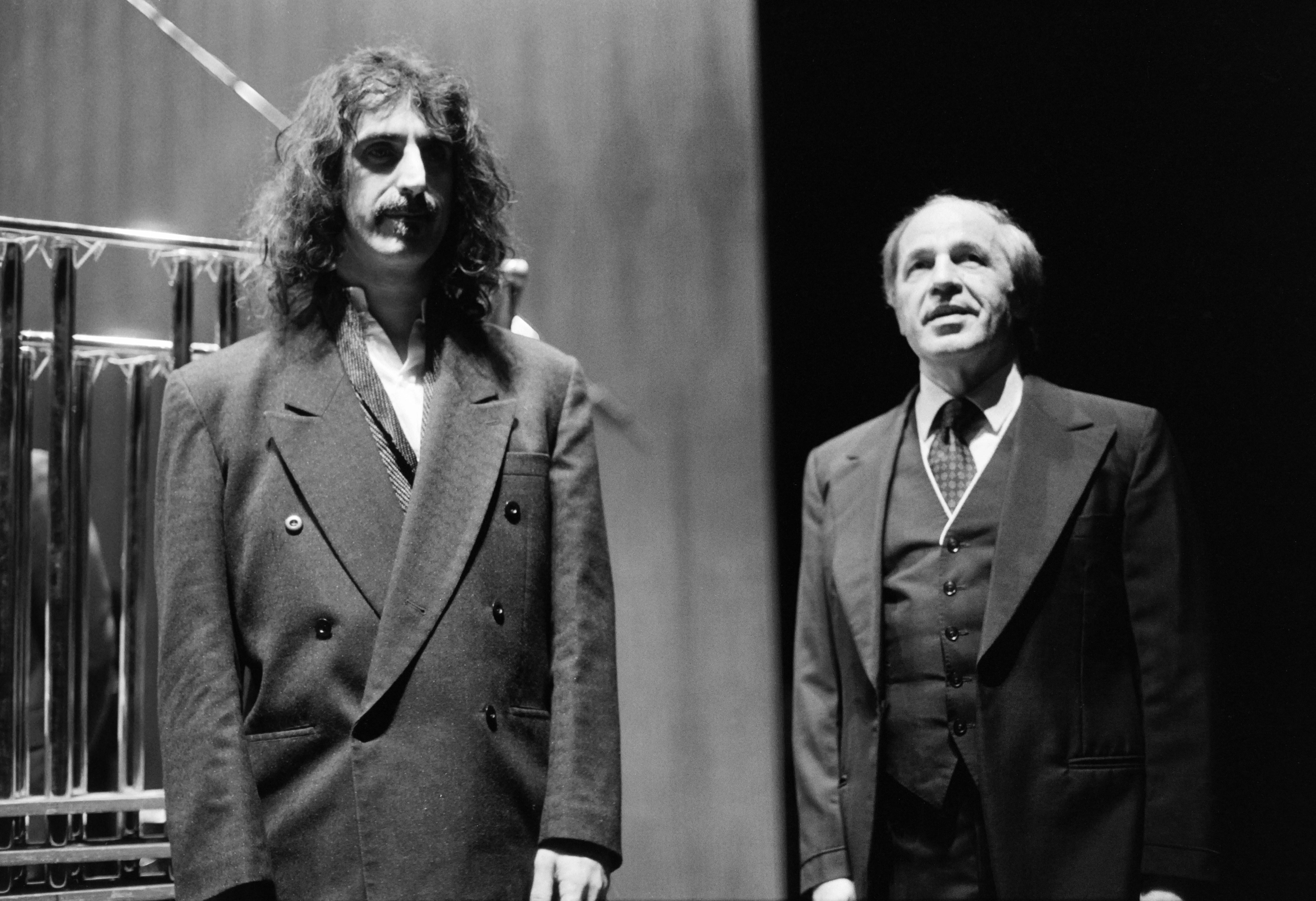 pierre boulez and frank zappa