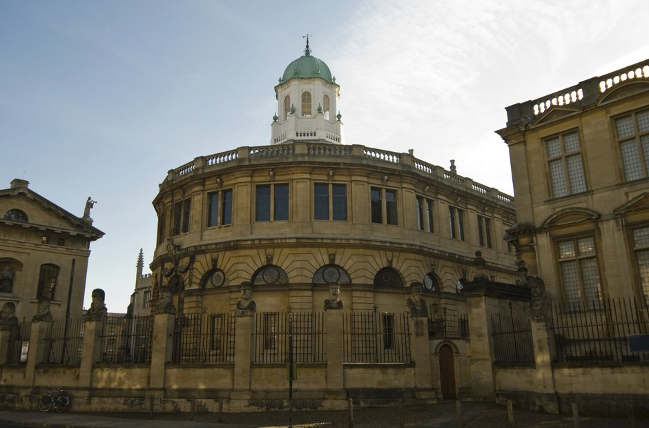UK classical music venues Sheldonian Theatre Oxford