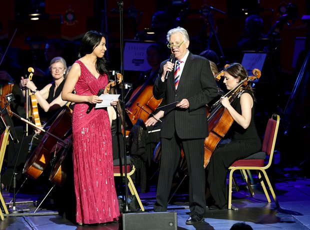 Margherita Taylor and Nicholas Owen Classic FM Liv