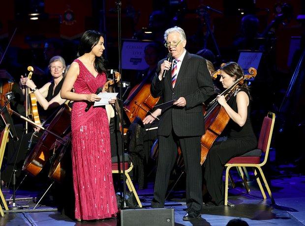 Margherita Taylor and Nicholas Owen Classic FM Liv