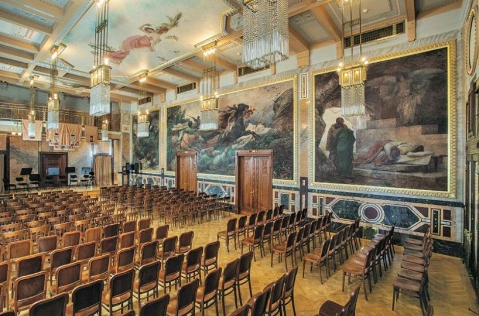 Municipal House Gregr Hall Prague