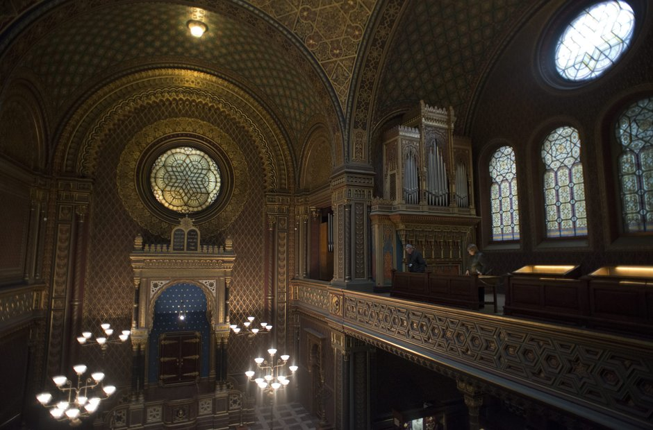 Prague classical music venues Spanish Synagogue