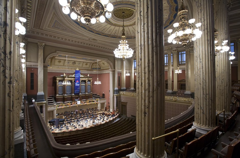 Prague classical music venues Dvorak Concert Hall Rudolfinum