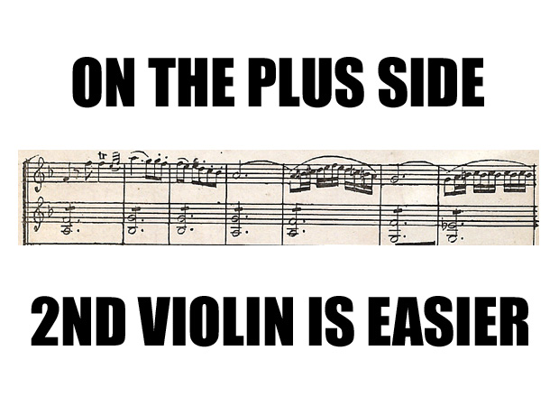 boring 2nd violin parts