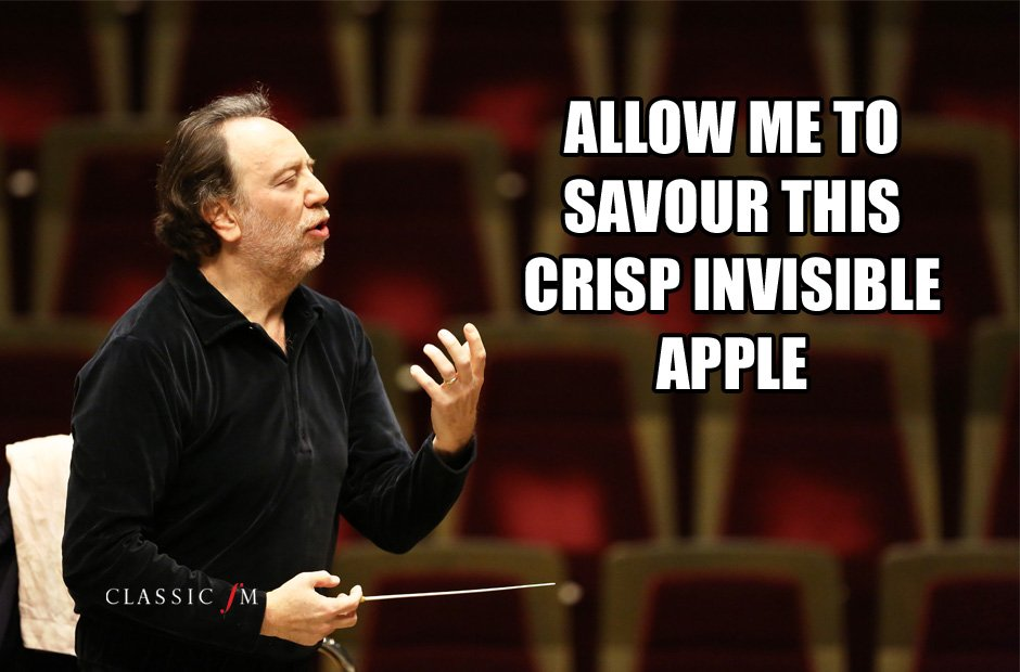 composers eating invisible food