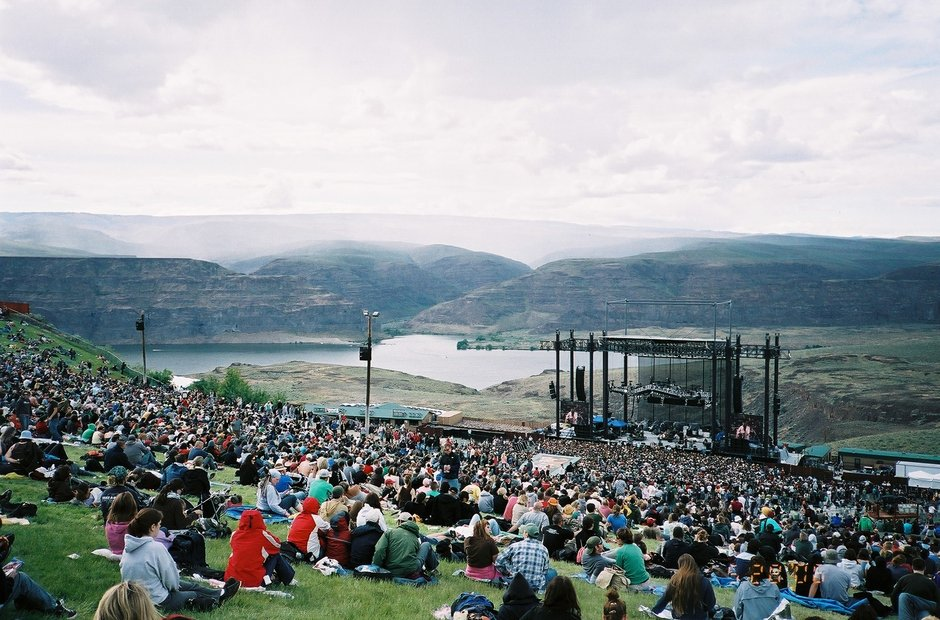 Gorge Amphitheatre Quincy Washington