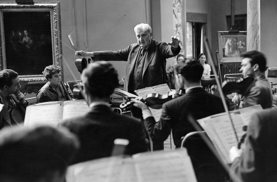 great conductors in rehearsal