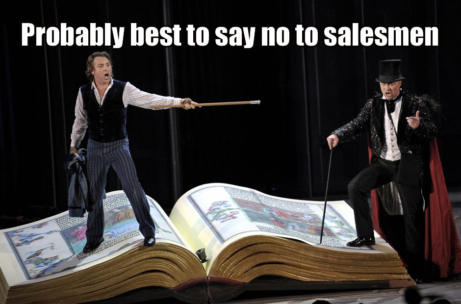 Life lessons from opera Faust