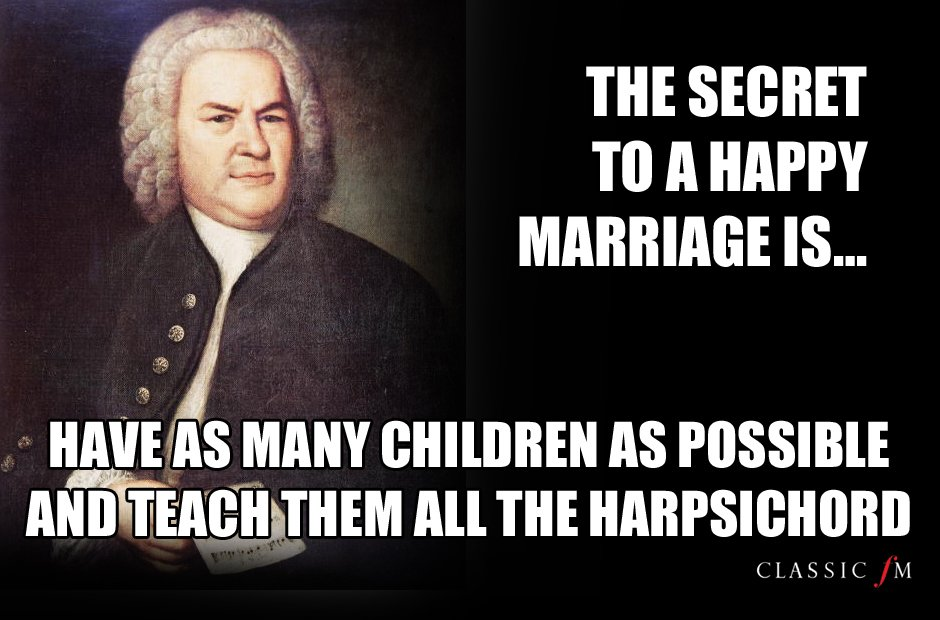 Love advice from the great composers Bach