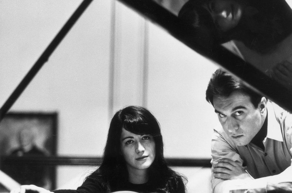 Martha Argerich Claudio Abbado