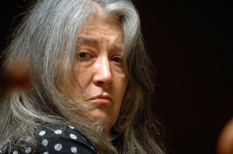 Pianist Martha Argerich