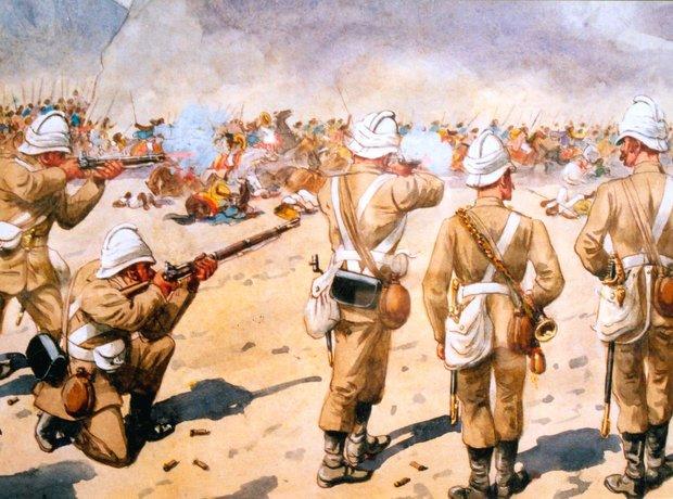 Battle Magdala Abyssinia