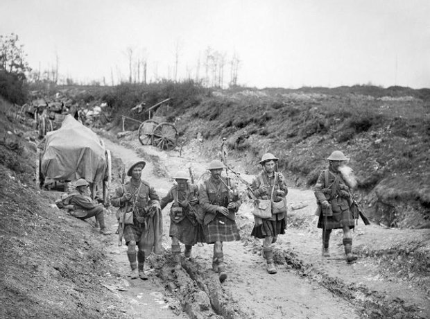 Bazentin battle Somme first world war