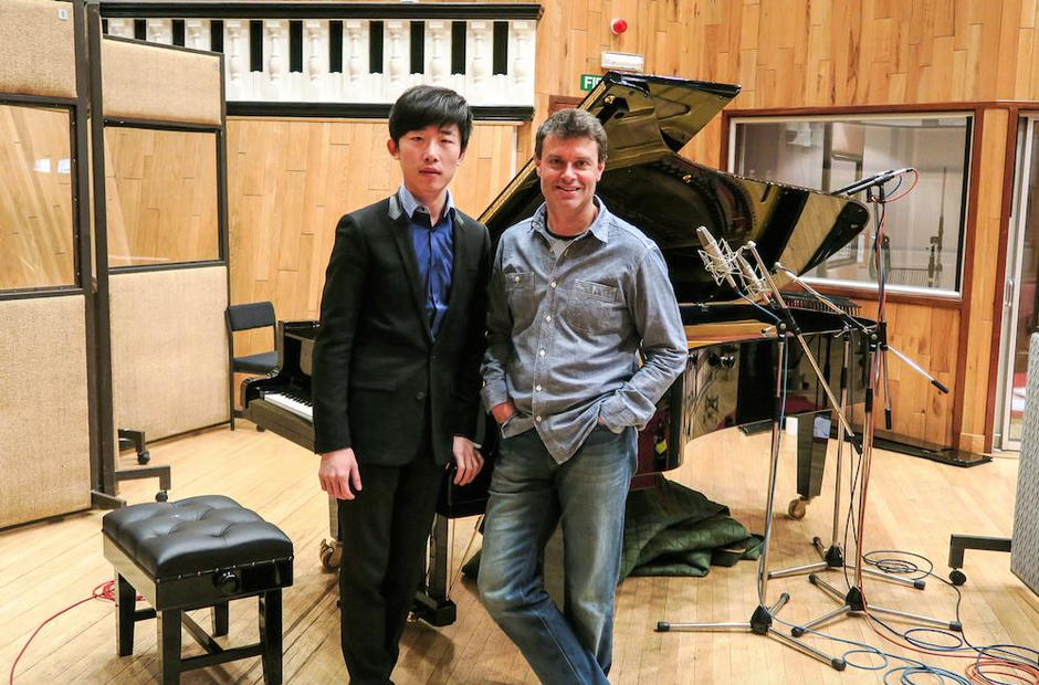 Craig Ogden and Friend Ji liu