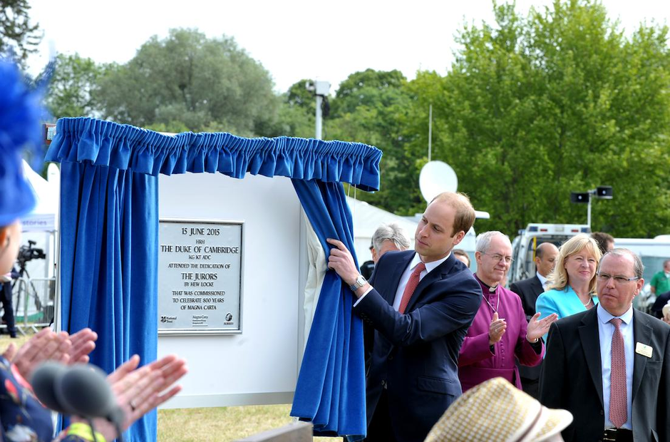 Magna Carta 800 Runnymede Queen Archbishop Canterbury Prime Minster David Cameron