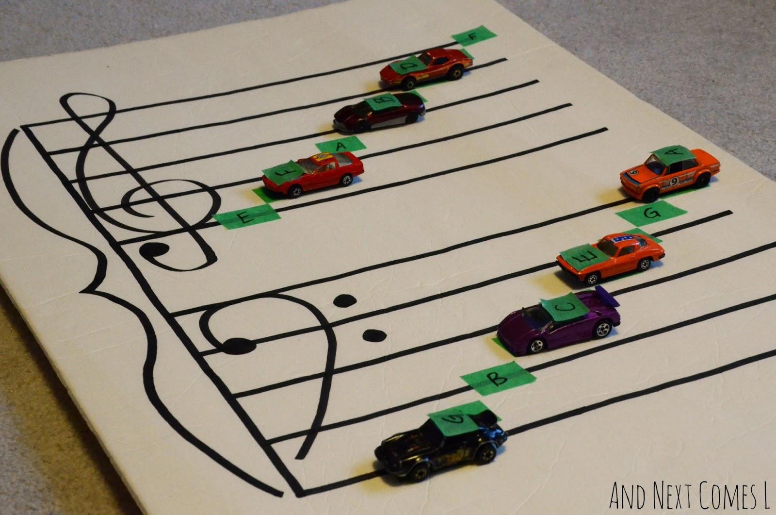 Teach children music theory