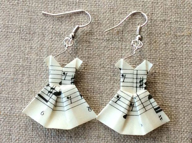 Musical Earrings And So Cute
