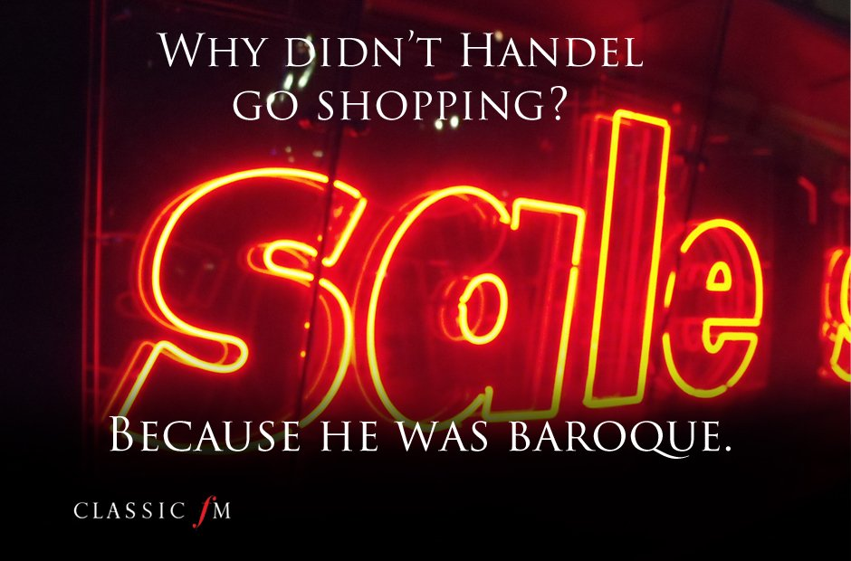 Musical joke – shopping