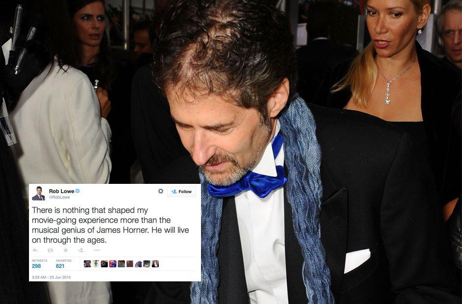 Rob Lowe on James Horner
