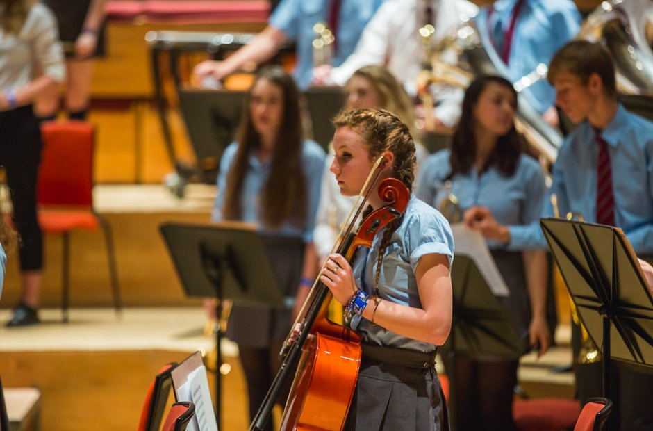 Caerleon Comprehensive School Orchestra