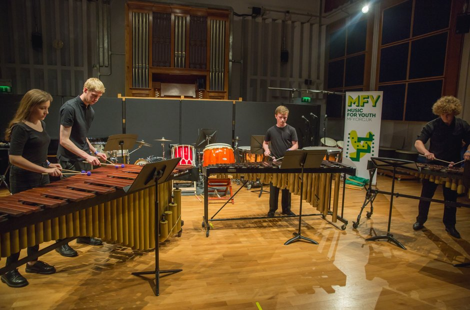Caerleon Comprehensive School Percussion Ensemble
