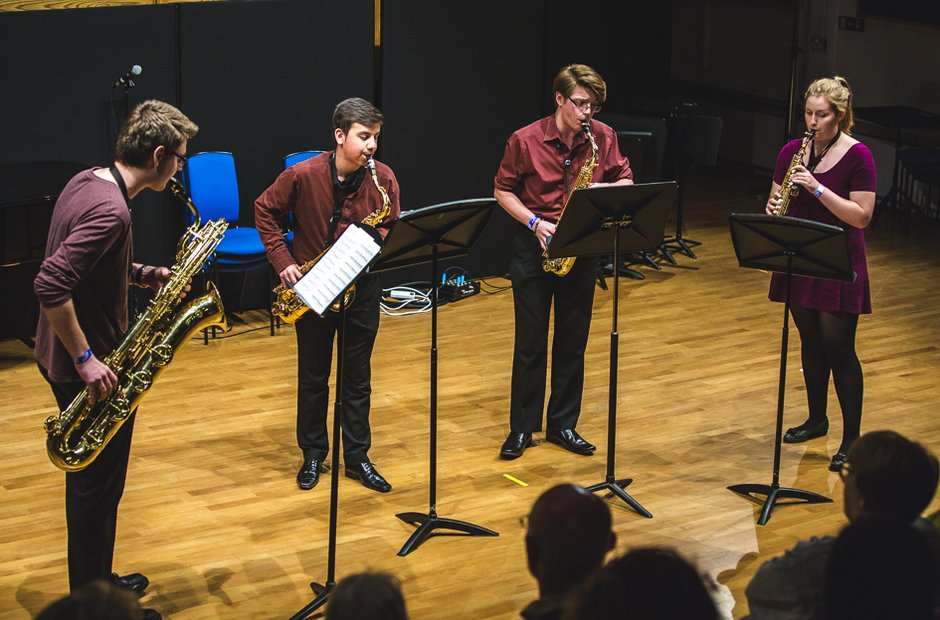 Junior Trinity Saxophone Quartet