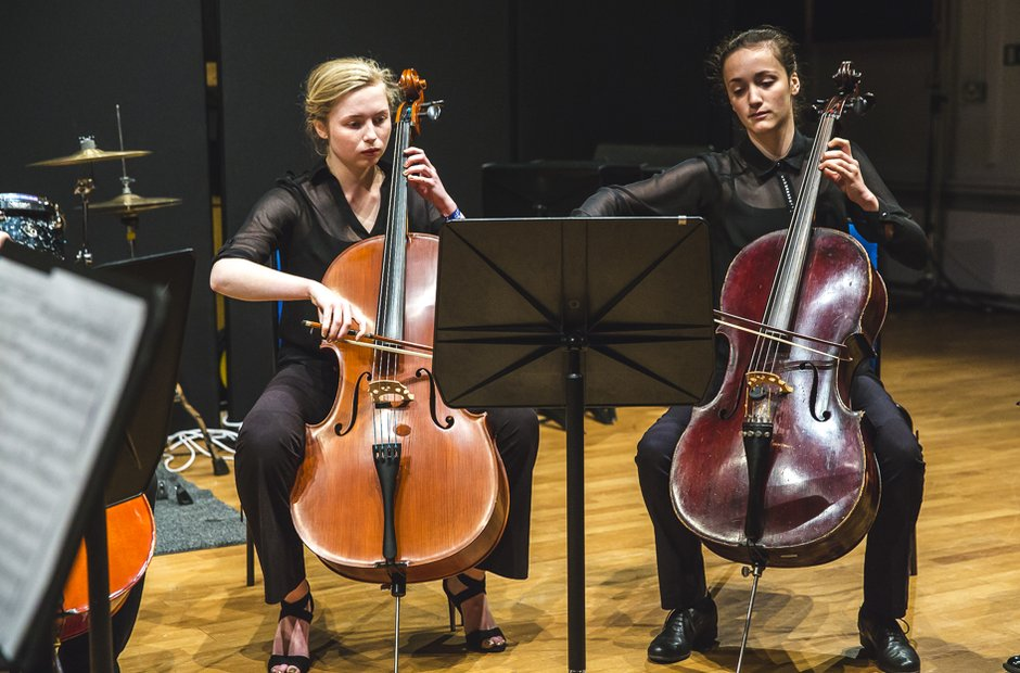 MK Youth Orchestra Cellos