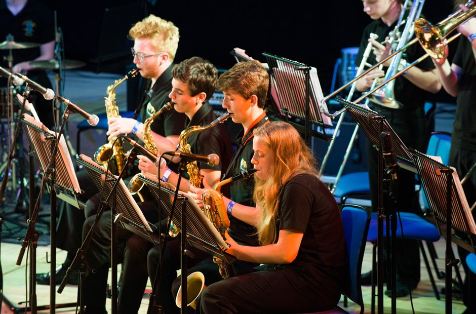 Pembrokeshire School's Big Band