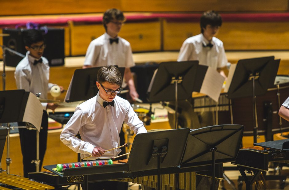 Poole Grammar School Senior Percussion Ensemble