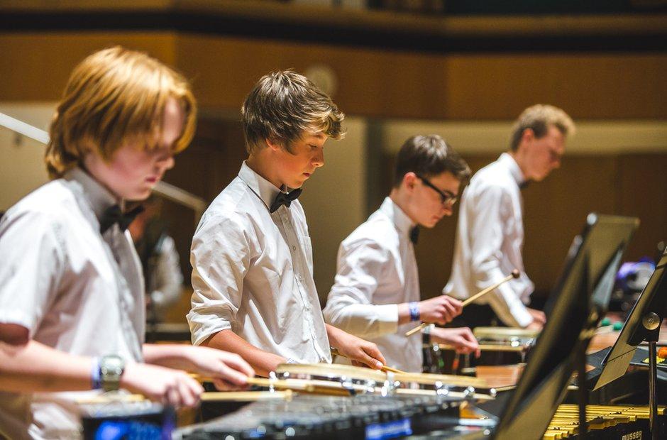 Poole Grammar School Senior Percussion Ensemble