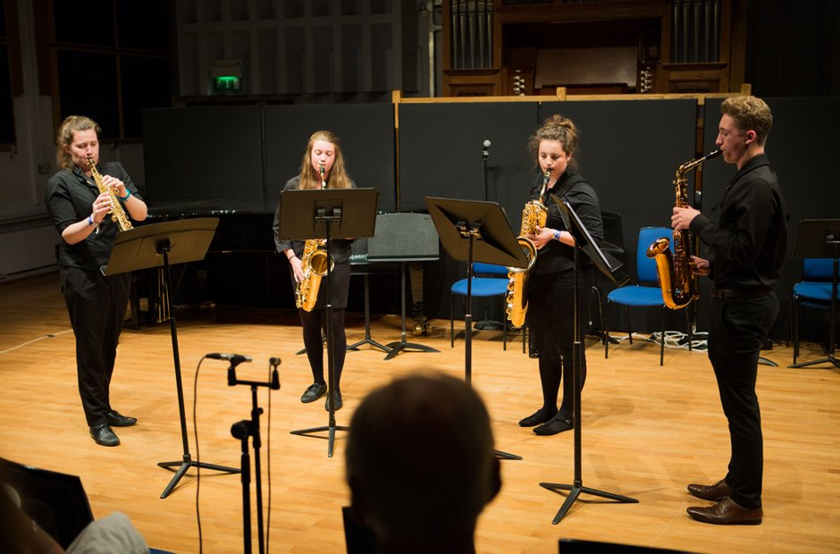 Roundwood Park School Saxophone Quartet
