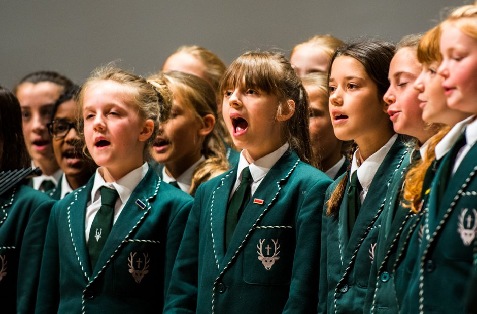 Spratton Hall School Choir