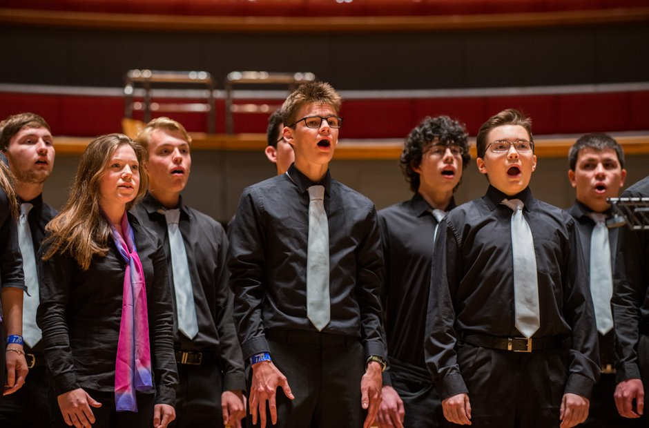 St Aidan's Chamber Choir at Music for Youth 2015