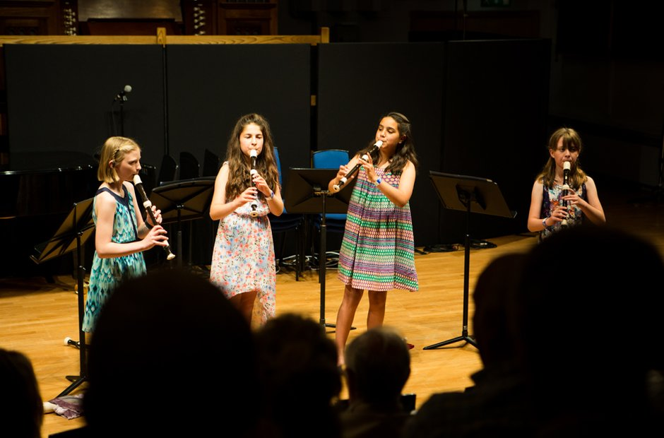 St Mary's Recorder Quartet