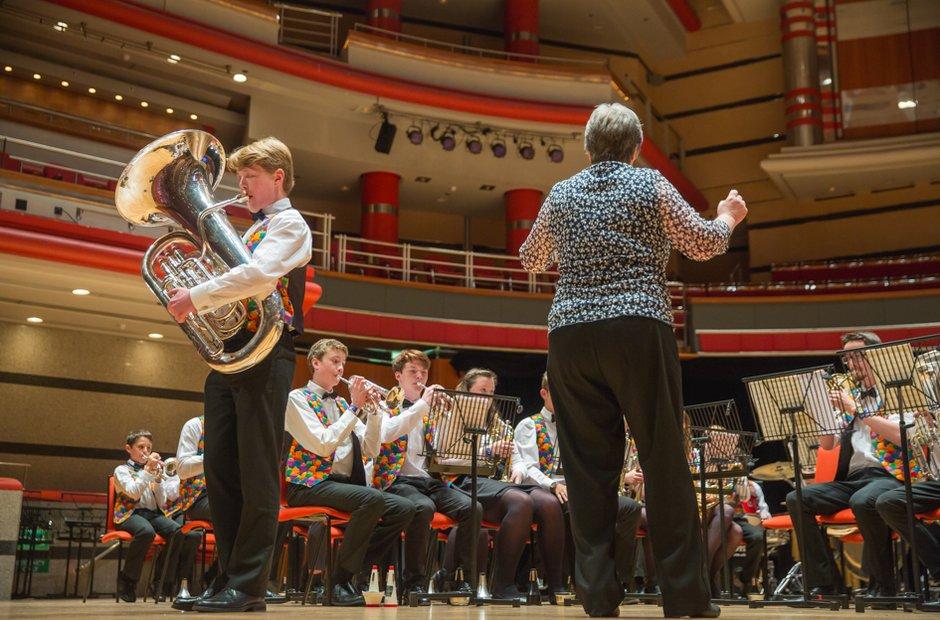 Tapton School Brass Band