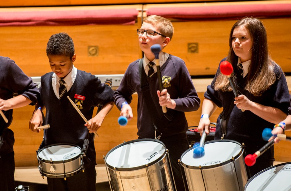 The Earls High School Samba Band
