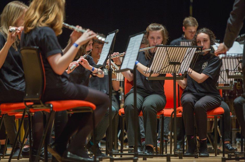 Ysgol Penglais Wind Band