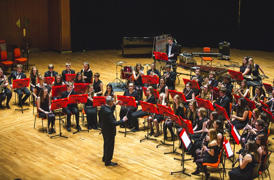 The Warwickshire County Wind Band