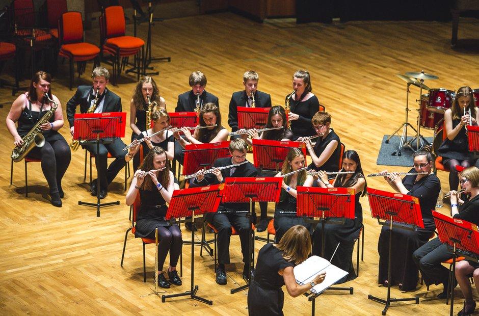 The Warwickshire County Wind Band