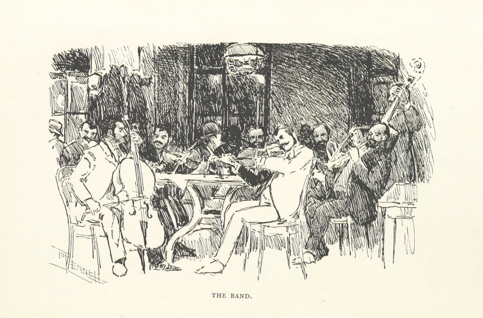 British Library images gipsy musicians