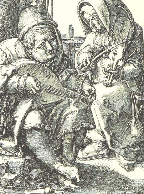 British Library archive lutenist violinist