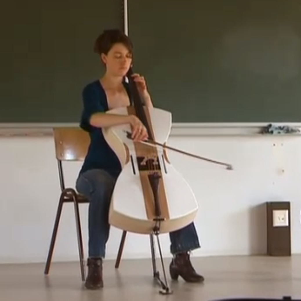 Styrofoam cello