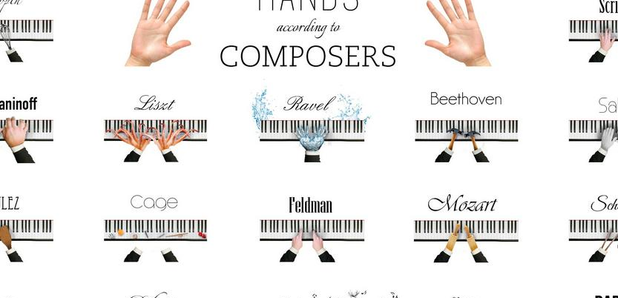 this infographic of composers u2019 hands is painfully  and hilariously  accurate