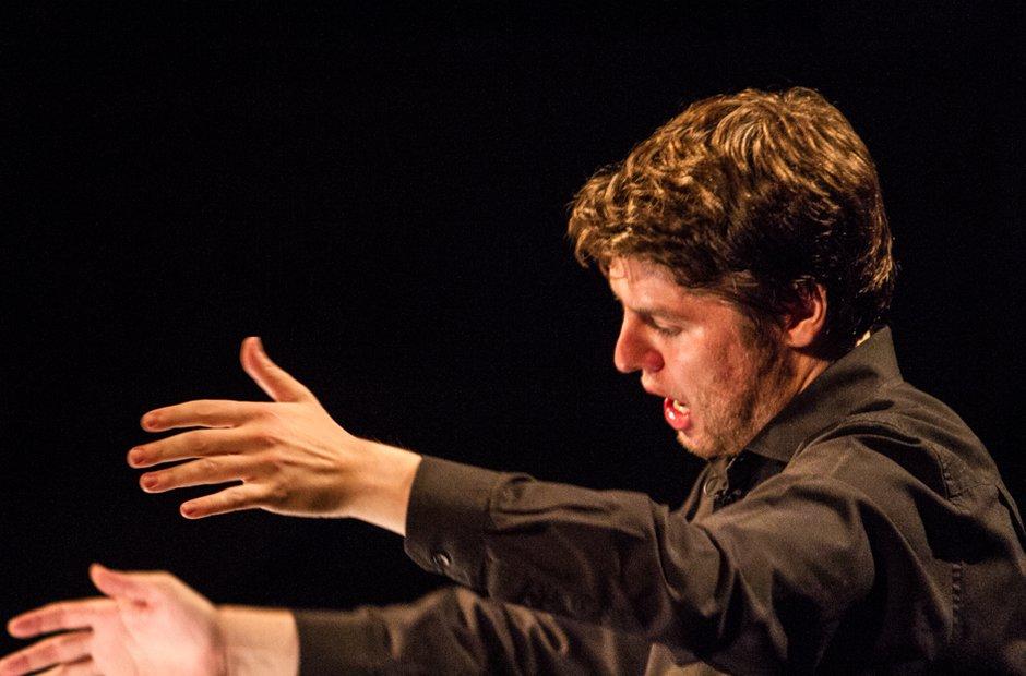 The Erebus Ensemble at the Bristol Proms.