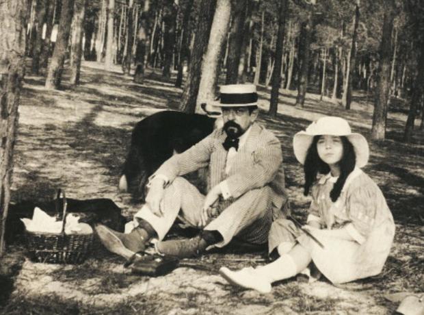 Claude Debussy picnic Chouchou