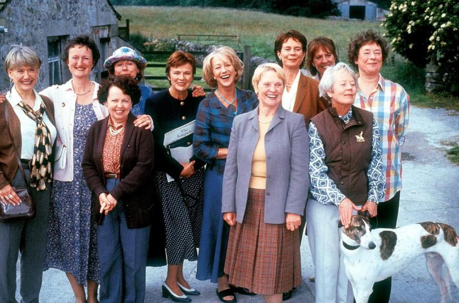 Calendar Girls Helen Mirren Julie Walters Celia Im